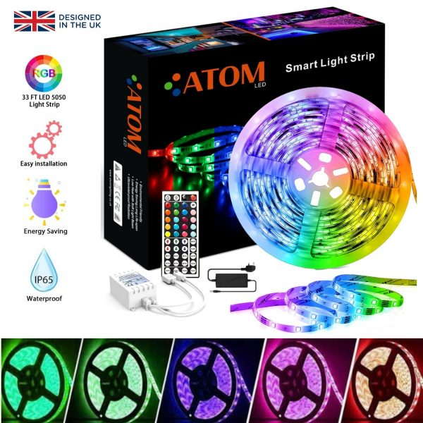 rgb led strip 5m 12v