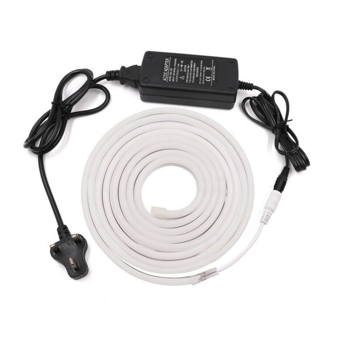 ATOM LED Neon Flex Warm White 12V 6 x 12mm