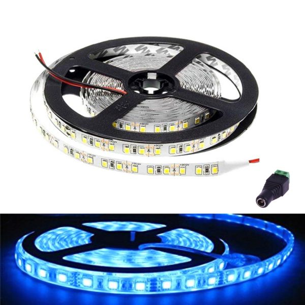 atom led - led strip light 12v blue ip65 - ukledlights.co.uk