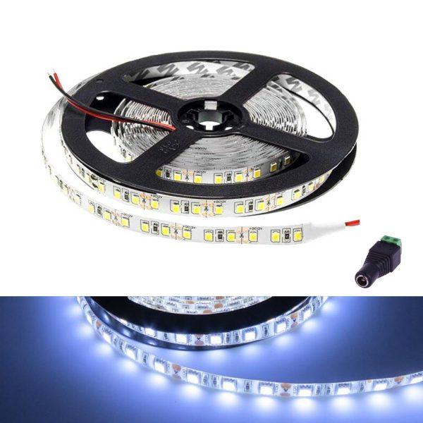 atom led - led strip light 12v cool white ip65 - ukledlights.co.uk