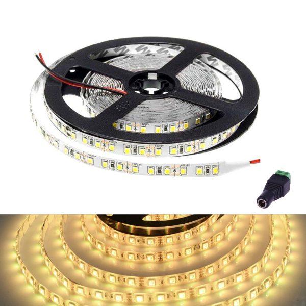 atom led - led strip light 12v warm white ip65 - ukledlights.co.uk