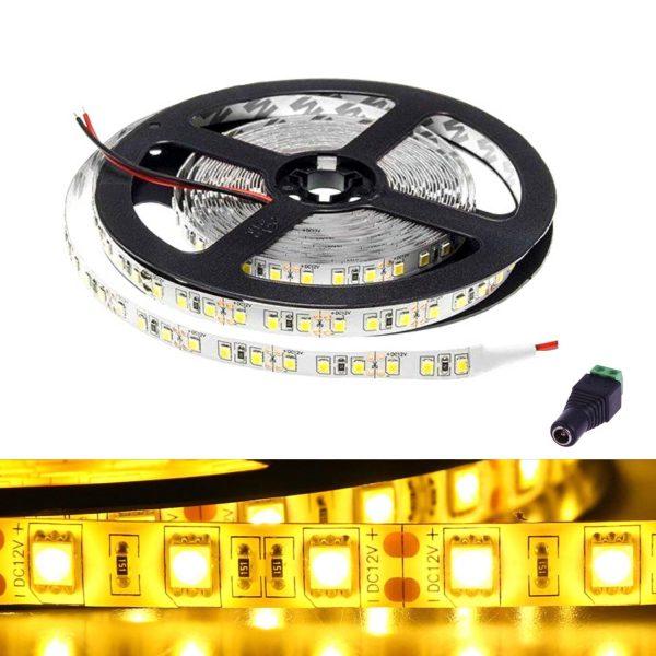 atom led - led strip light 12v yellow ip65 - ukledlights.co.uk (1)