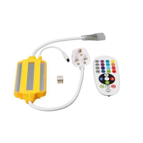 RGB LED STRIP 60LED_M - RGB 60led_m 220V controller - ukledlights.co.uk