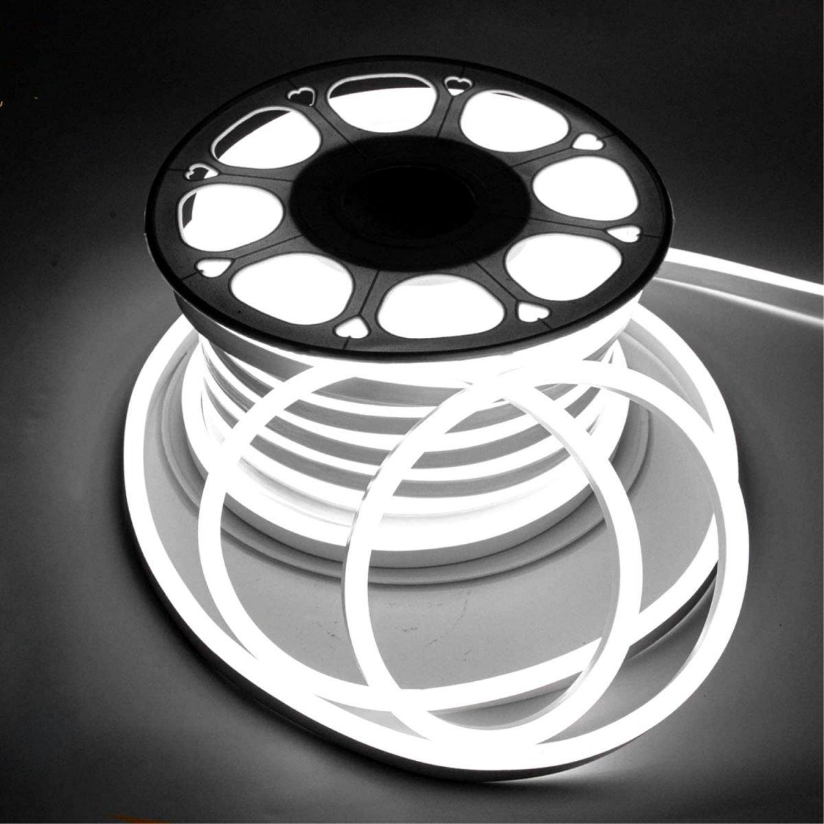LED Neon Flex Cool White 8x16mm AC 220V 240V