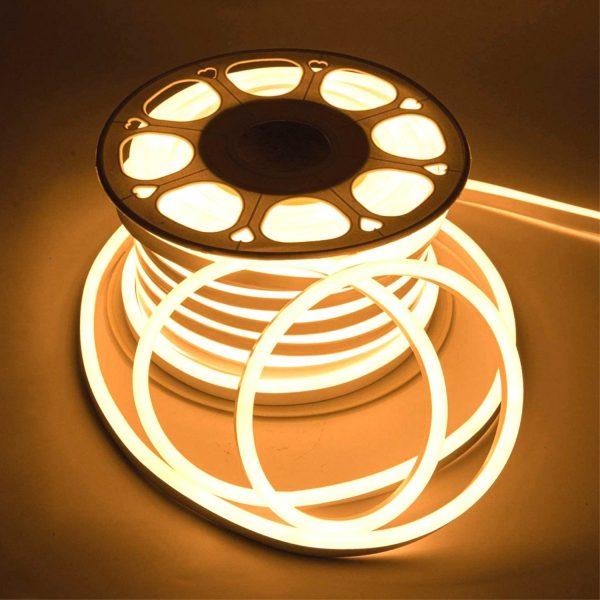 LED Neon Flex Warm White 8x16mm AC 220V 240V