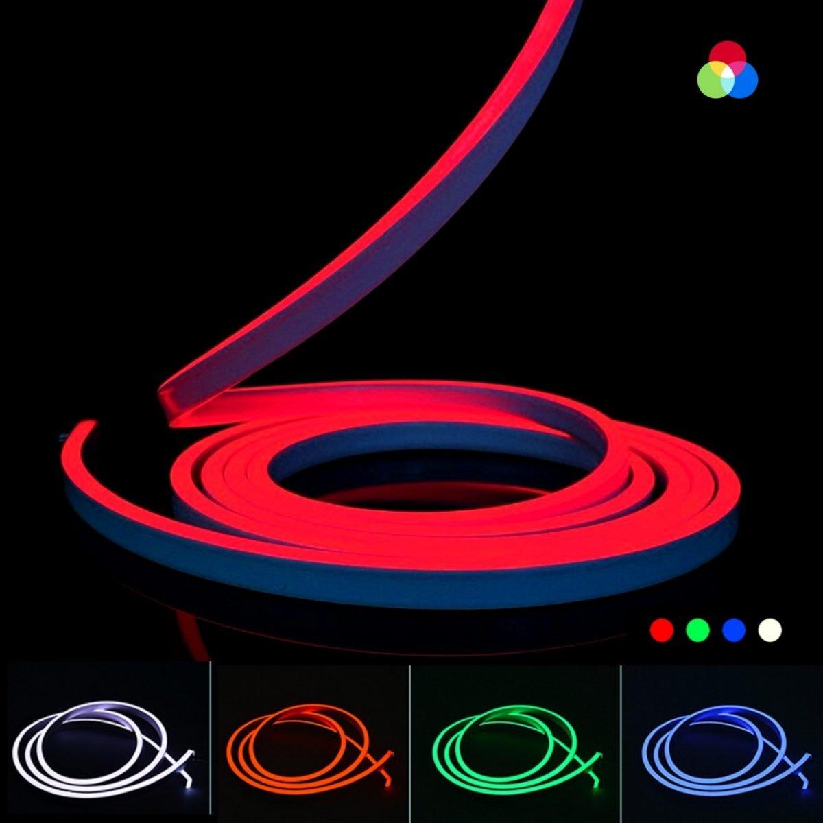 ATOM LED RGB NEON FLEX 24V 10x20mm WITH WIRELESS BLUETOOTH CONTROLLER & APP (1)