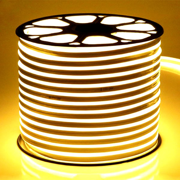 ATOM LED Neon Flex Warm White 220V 8 x 16mm