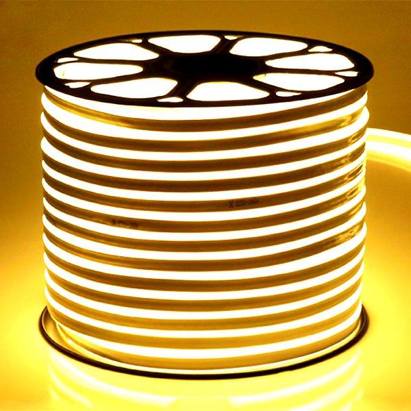 ATOM LED Neon Flex Warm White 220V 8 x 16mm