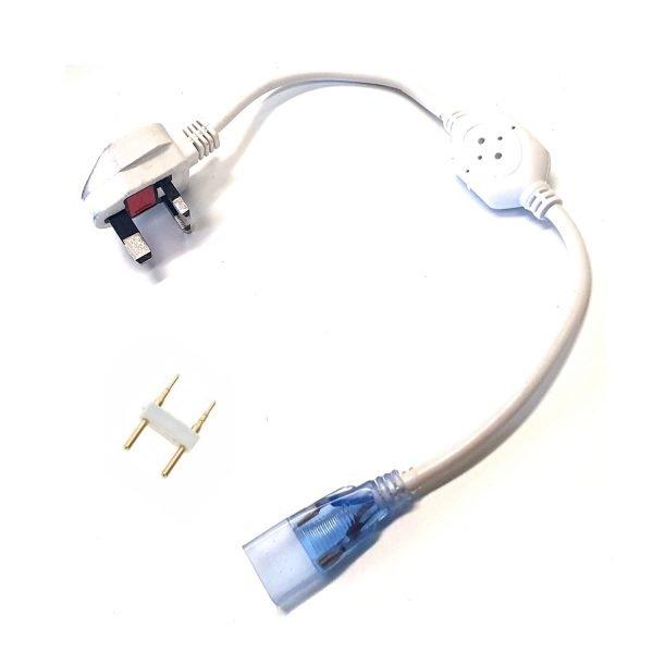 LED Strip 180LEDs_m 220V 2Pin Connector 13.5mm
