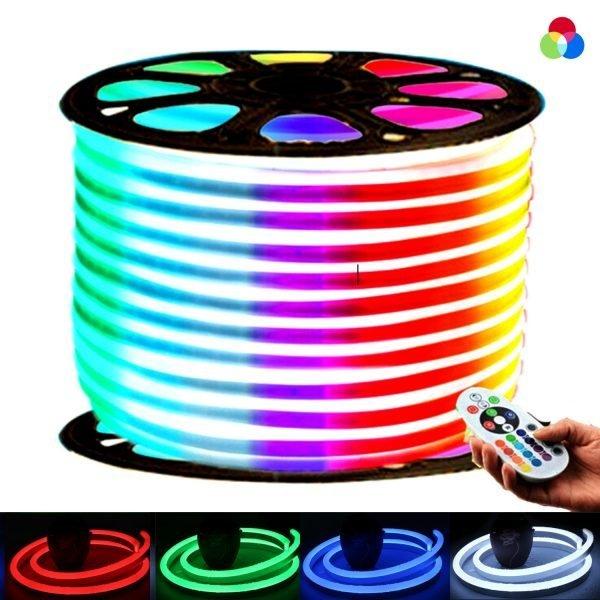 RGB Neon Flex 14x25 AC 220V