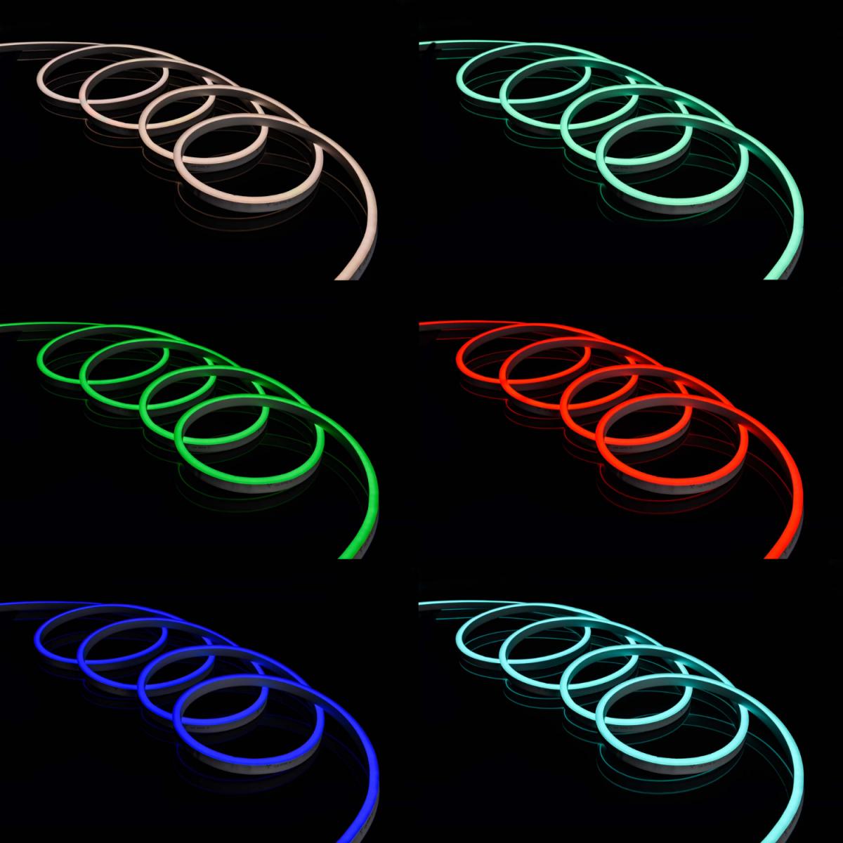 RGB Neon Flex 220V 18 x 21 - ukledlights.co.uk