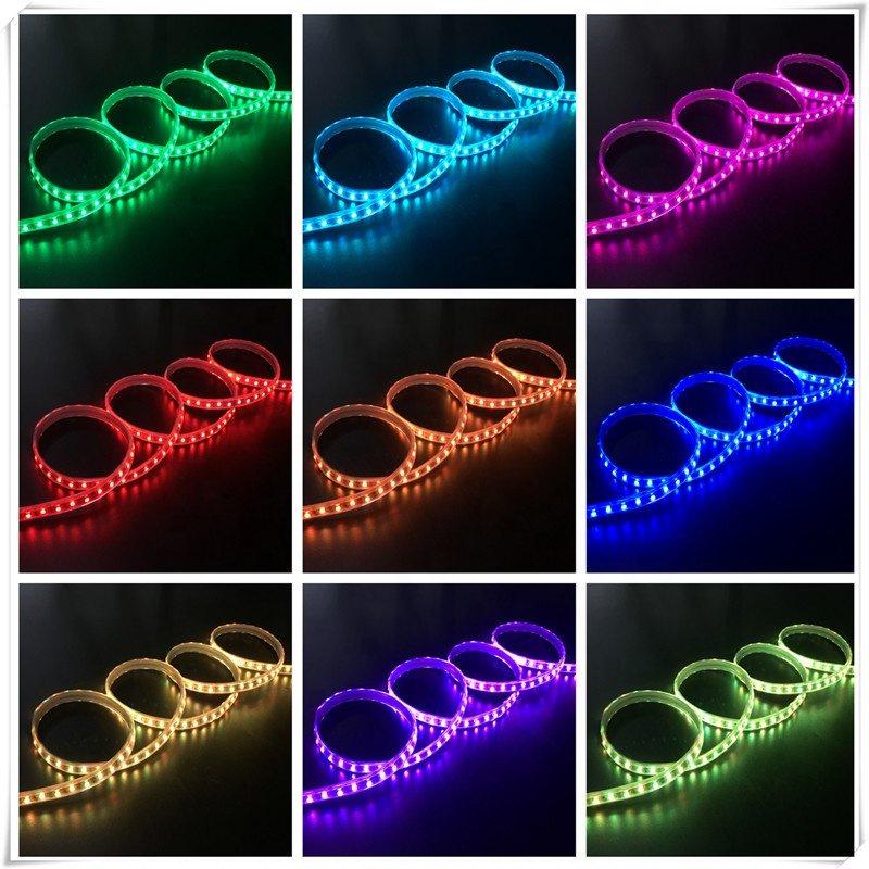 RGB LED Strip 220V 120LED_m Wireless Bluetooth (5)