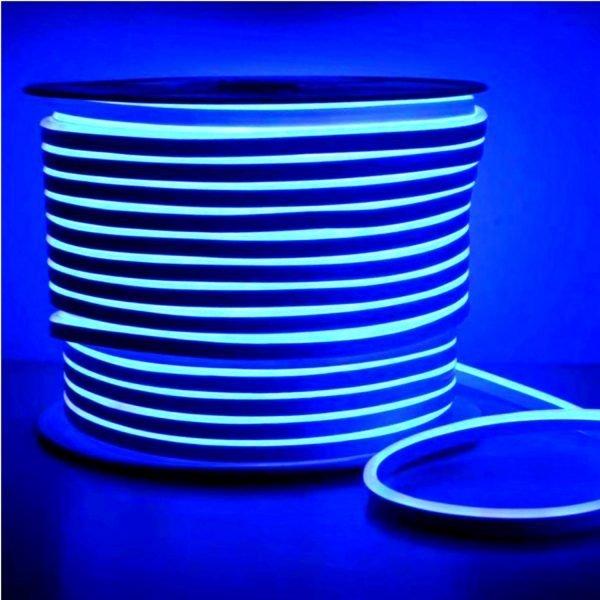 Blue LED Neon Flex Cool White