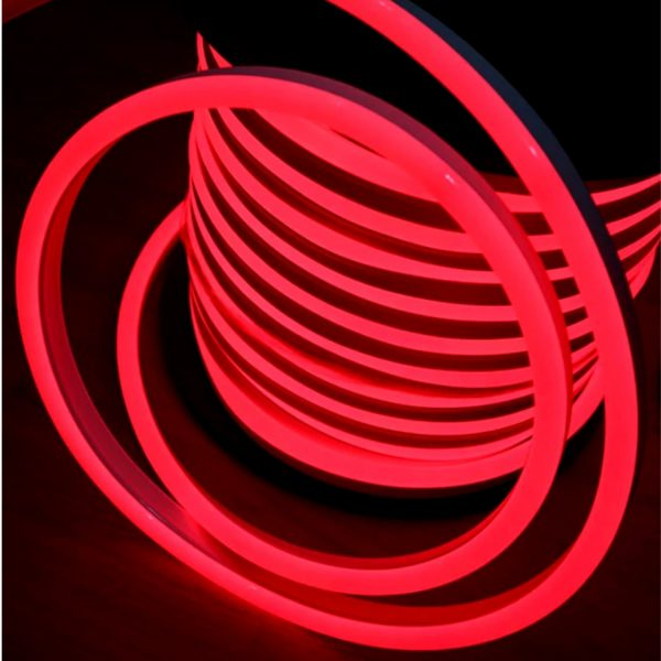 Red LED Neon Flex 8x16mm AC 220V 240V (1)